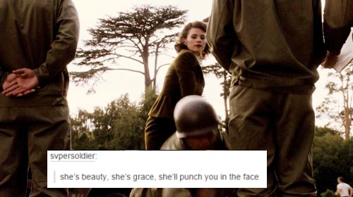 Agent Peggy Carter, everyone