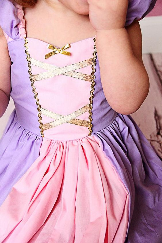RAPUNZEL costume dress princess dress for by loverdoversclothing