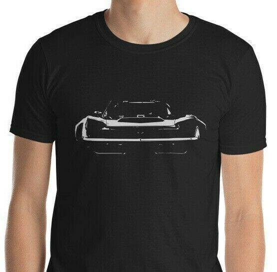 Chevrolet Corvette Sport Car Racing Logo Men/'s Black T-Shirt S M L XL 2XL
