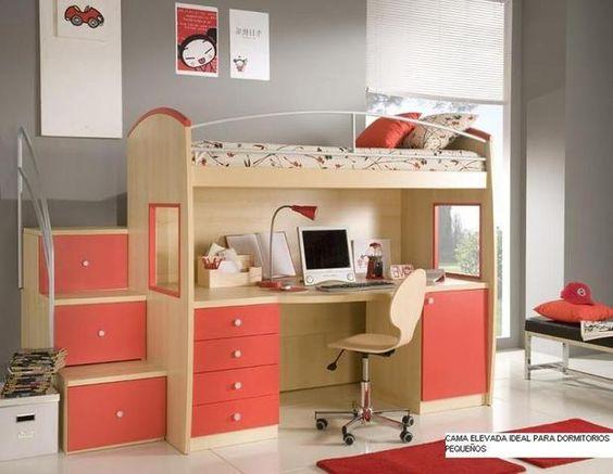 Muebles camas camarotes para el dormitorio de ni os en for Muebles de dormitorio infantil