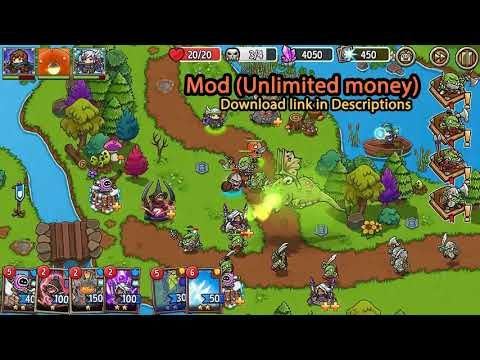 Crazy Defense Heroes Mod Apk 1 7 1 Unlimited Money Free Purchase