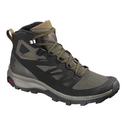 Men S Salomon Outline Mid Gore Tex Hiking Boot Mens Hiking Boots Gore Tex Hiking Boots Hiking Boots