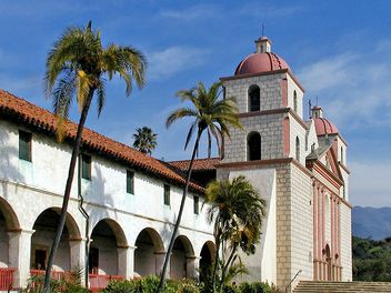 Mission Santa Barbara, Santa Barbara, CA  It's a beautiful place and a wonderful town to live in!
