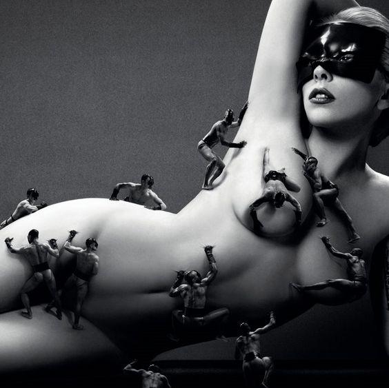Lady Gaga Full Frontal Nude