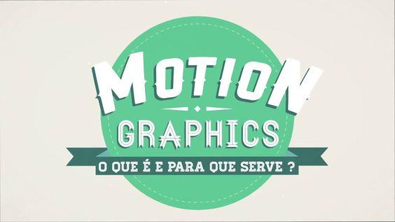 """O que é Motion Graphics?. Vídeo apresentado como parte do meu projeto de conclusão de curso da faculdade de design, o tema do trabalho é """"Mo..."""