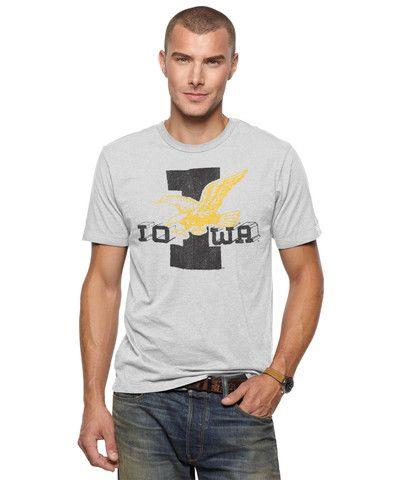 Iowa hawkeyes hawk t shirt hawkeye love pinterest for Iowa hawkeye t shirt