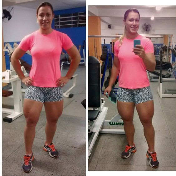 Carla Inhaia does not skip leg day. | gym humor | Pinterest | Legs and