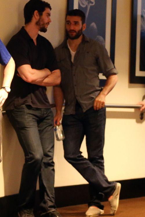 Adam McQuaid & Patrice Bergeron