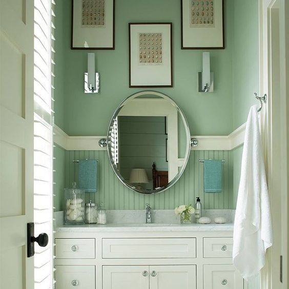 Visit your local benjamin moore retailer for advice on for Bathroom design visit
