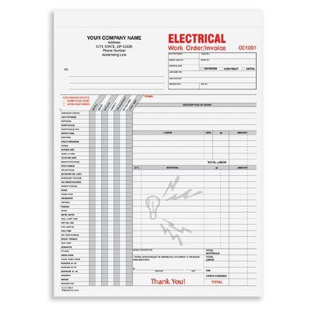 JWOCC-870, Work Order Construction Forms Pinterest