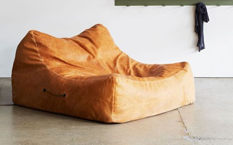 25 Leather Bean Bag Chair Pinterest