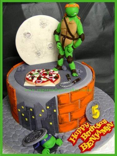 ninja turtels turtle ninja mutant ninja cakes ninja tmnt cakes cake ...