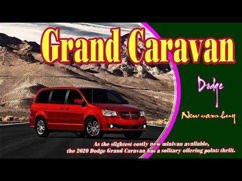 2020 Dodge Caravan Price Specs Review Grand Caravan Best New Cars Caravan