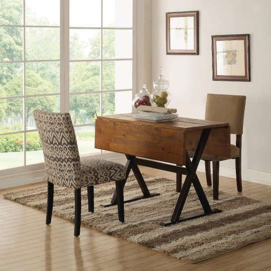 The Best Drop Leaf Extendable Tables For Flexible Dining With Images Dining Room Small Dining Table Drop Leaf Table