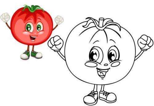 صور رسومات فواكه للتلوين Pdf وخضراوات ملونة وسهلة للطباعة بأشكال جميلة Bee Coloring Pages Coloring Pages Mario Characters