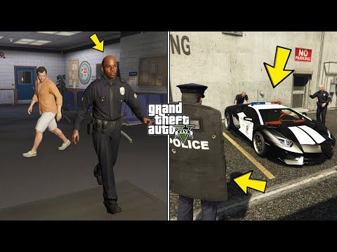 What Happens If You Follow This Cop In Gta 5 Secret Police Lamborghini Location Youtube Police Lamborghini Gta 5 Gta
