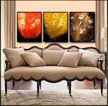 Geni015 48x20 Original Abstract Painting by Geni by genistudio, $69.99
