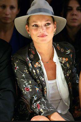 Kate Moss Fashion Week London 2013