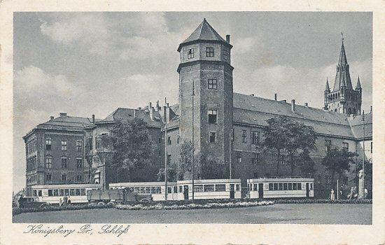Königsberg  Ansichtskarte gelaufen 1940