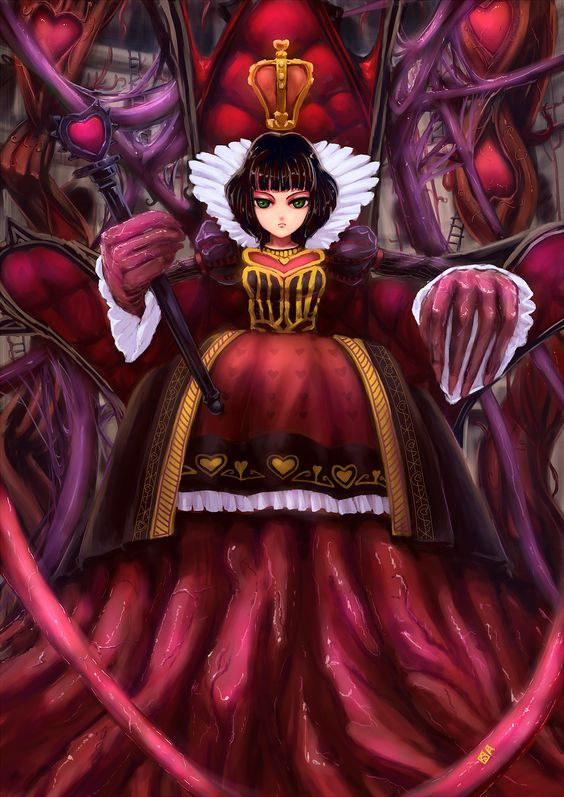 alice and the red queen anime elf