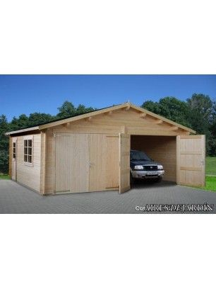 Caseta de Jardin Garage Double 595 x 530 cm.