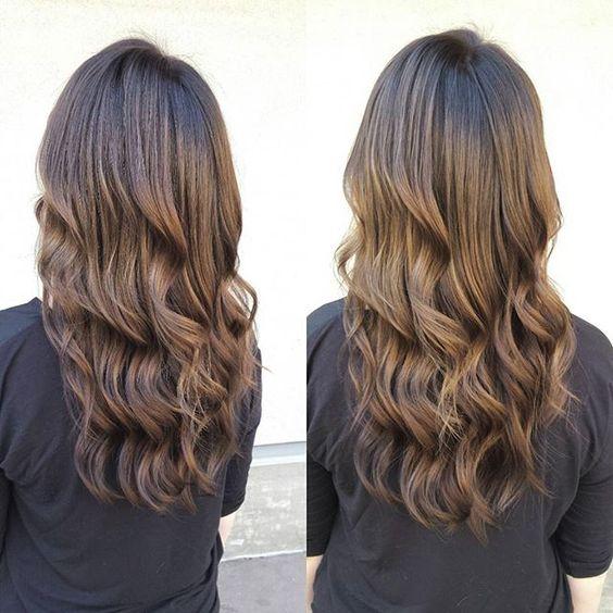 Stunning Brunette color melt! #wellaprofessional #wellaprofessional #wellahair #kamloopsbc #mwhairco @cmelville_