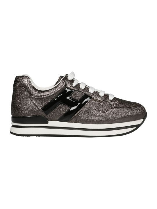 Hogan Hogan Metallic Logo Sneakers 11123624 Italist Tenis