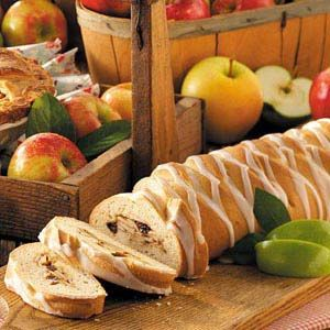 Apple Coffee Cake Braid