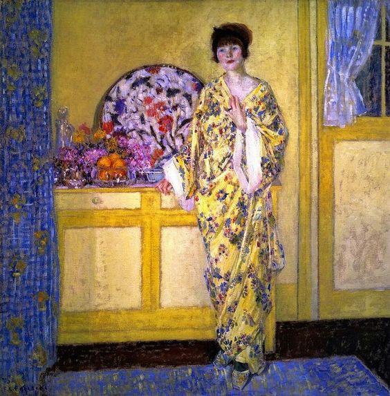 The Yellow Room - Frederick Carl Frieseke 1913
