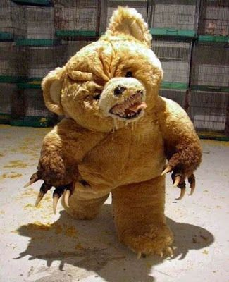 Creepy Teddy Toy | Killer Teddy Bear | Toyland | Pinterest ...