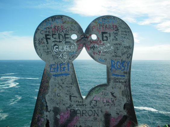 Via dell' Amore (Path of Love) between Riomaggiore and Manarola