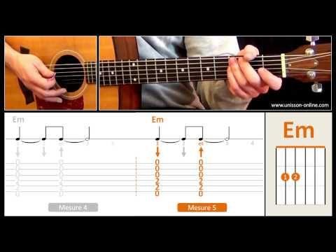 Jouer Sunday Bloody Sunday (U2) - Cours guitare. Tuto + Tab - YouTube