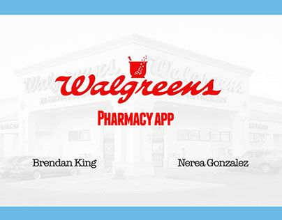 "Consulta este proyecto @Behance: ""Walgreen"