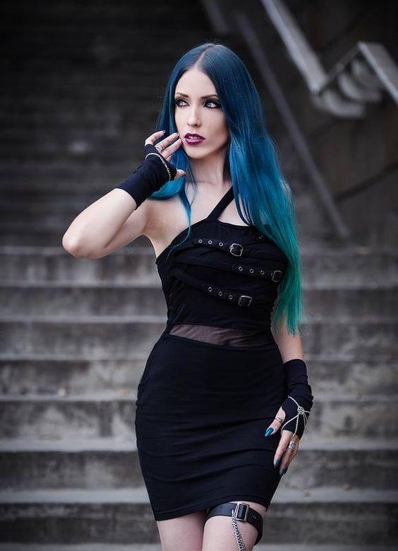 Model, make-up, edit: Daedra Dress: DarkinCloset Photographer: Unit Foto Welcome to Gothic and Amazing |www.gothicandamazing.com