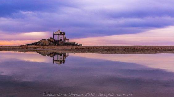 Ermida do Senhor da Pedra  #sonya77 #sonyalpha #sonyimages #landscape #sunset by ricardo_de_oliveira_