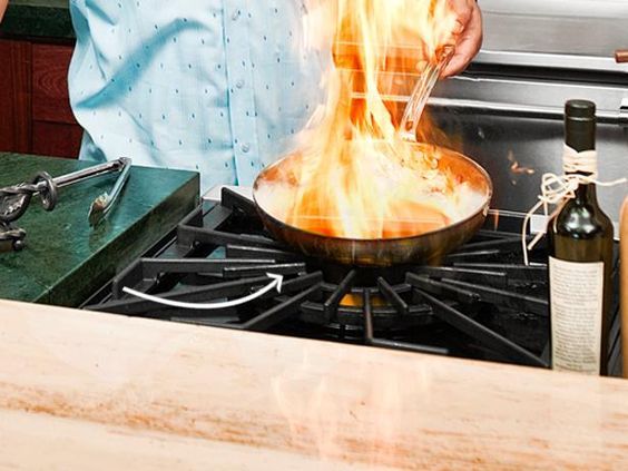 Mega Burner : To accommodate oversize cookware, like his 20-gallon jambalaya…