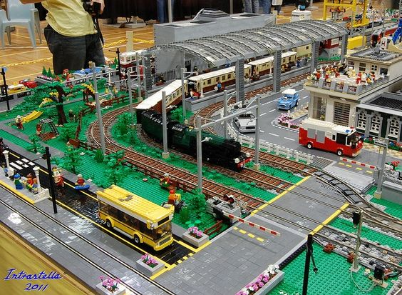 Legos trains my dad will love this