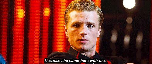 Peeta Mallark: A haiku.  Katniss take my bread,  every day I followed you,  why won't you love me?