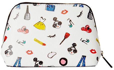 Stacey Print Cosmetic Pouch