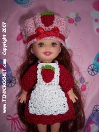Crochet Pattern Central Doll : Strawberry shortcake, Doll clothes and Dolls on Pinterest