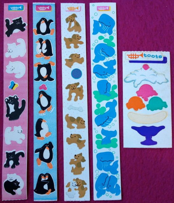 Vintage Toots Stickers by Cardesign inc by SpectacularStickers