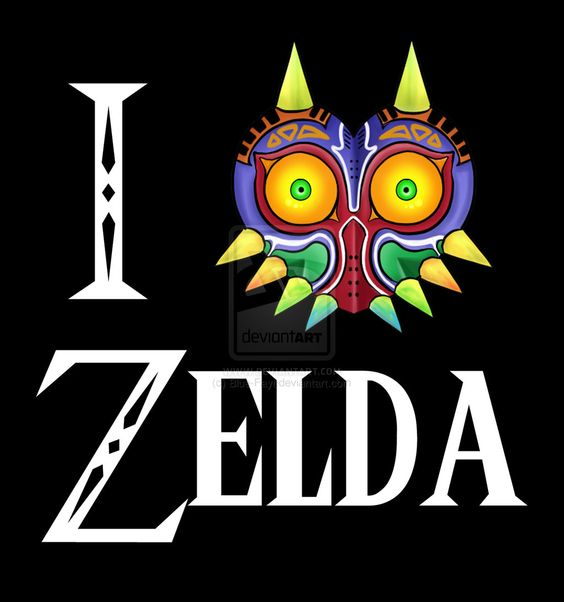 I Love Zelda T shirt design by Blue-Fayt.deviantart.com on @deviantART
