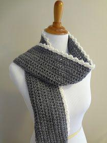 Fiber Flux: Free Crochet Pattern...Ingrid Scarf