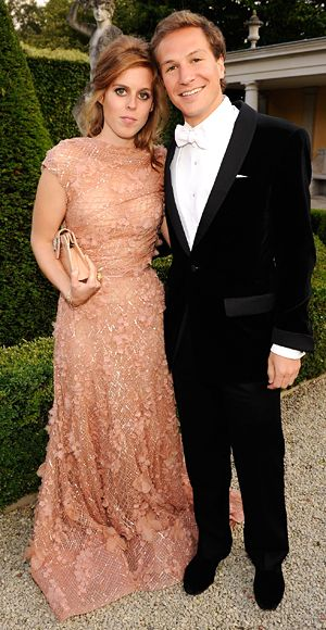 Princess Beatrice in Elie Saab Spring 2011 Couture at the 13th Annual White Tie and Tiara Ball to Benefit Elton John AIDS Foundation, June 2011