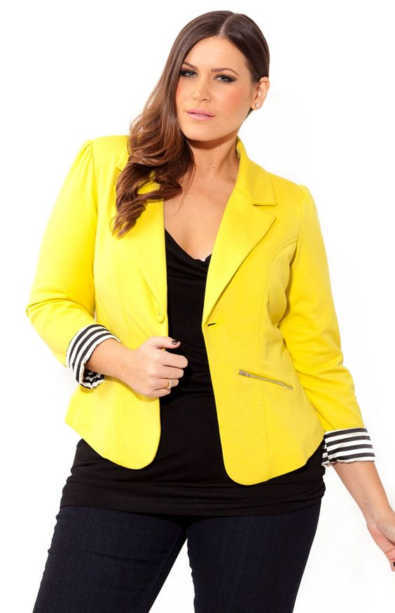 A splash of yellow is perfect for your fall wardrobe.