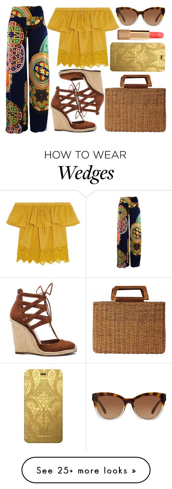 """""""street style"""" by sisaez on Polyvore featuring Madewell, Aquazzura, Michael Kors, Chanel, Christian Lacroix and Salvatore Ferragamo"""