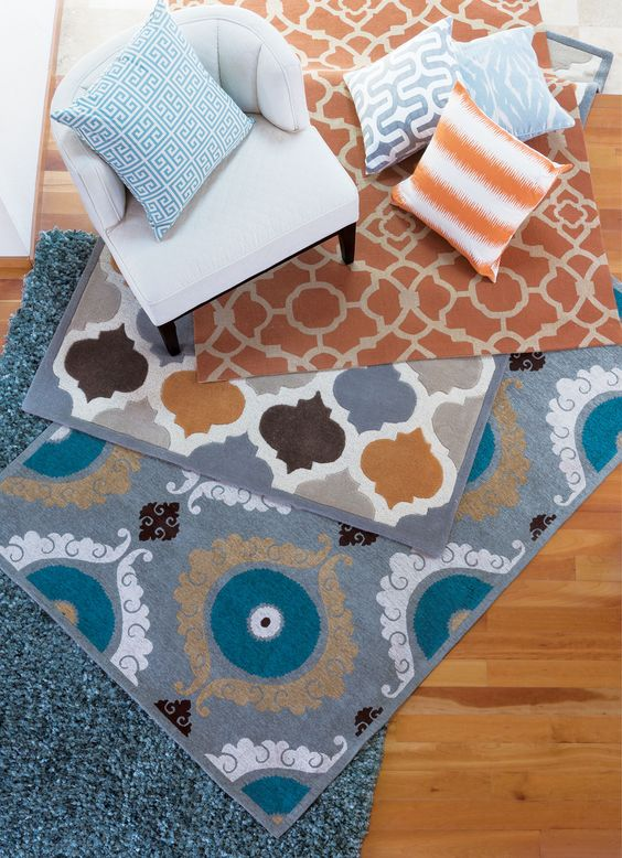 We like decisions like this, there are no wrong answers. See all our rugs online. #LivingSpaces