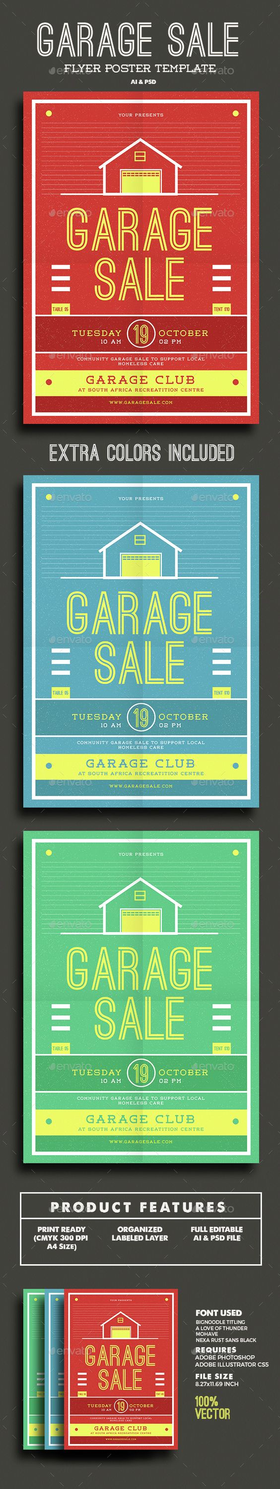 garage flyer flyer template the o jays and garage garage flyer template psd vector ai here