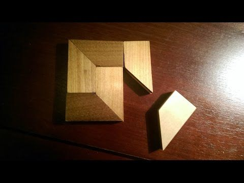 No Fit Wood Brain Teaser Puzzle From Www Creativecrafthouse Com Youtube Wood Puzzles Wood Square Puzzle