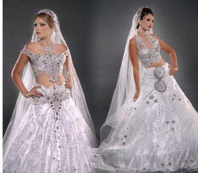 Lindos Vestidos de Noivas Indianas | Cristina Franco